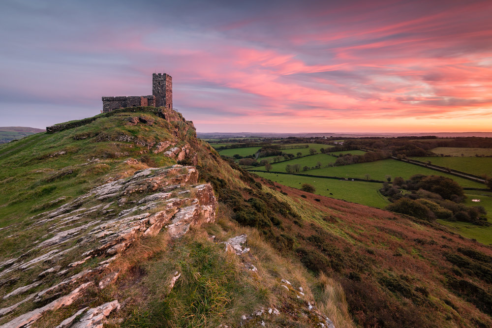 20171006-Fading Sunset at Brentor Church #1.jpg