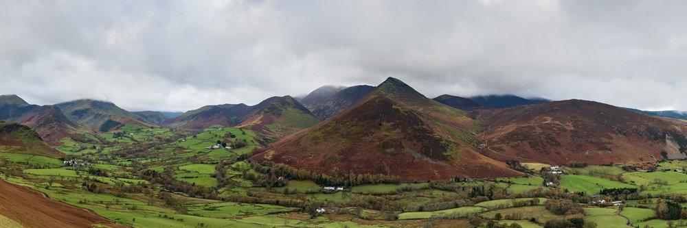Derwent Fells Panorama