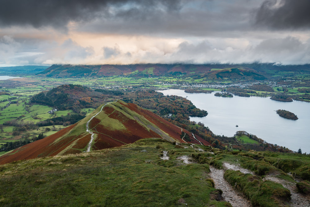 Looking North from Cat Bells