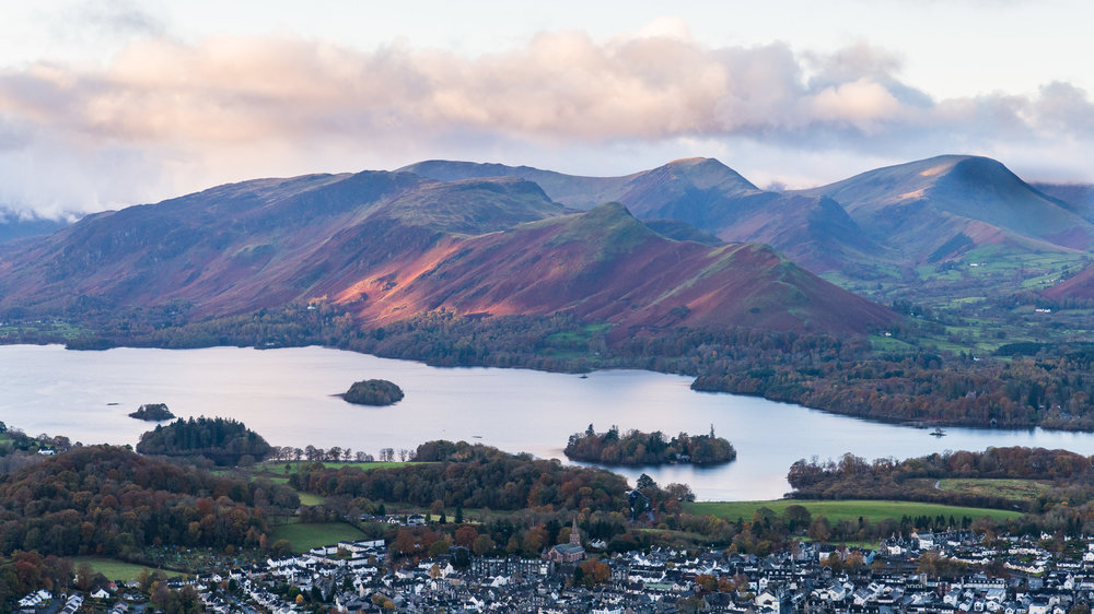 Derwent Water and Cat Bells
