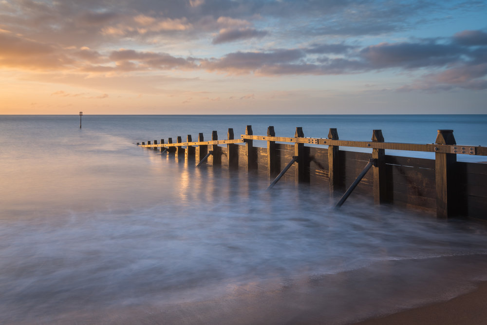 First Light on the Groyne