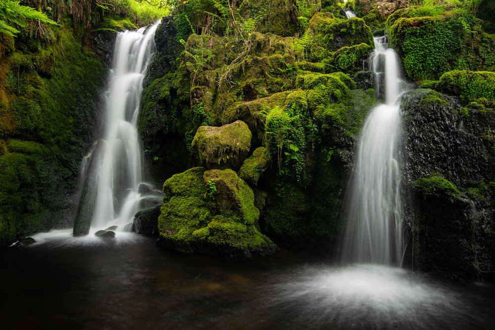 It's not been all bad.  Spring at Venford Falls (Dartmoor, Devon) is always worth a visit.