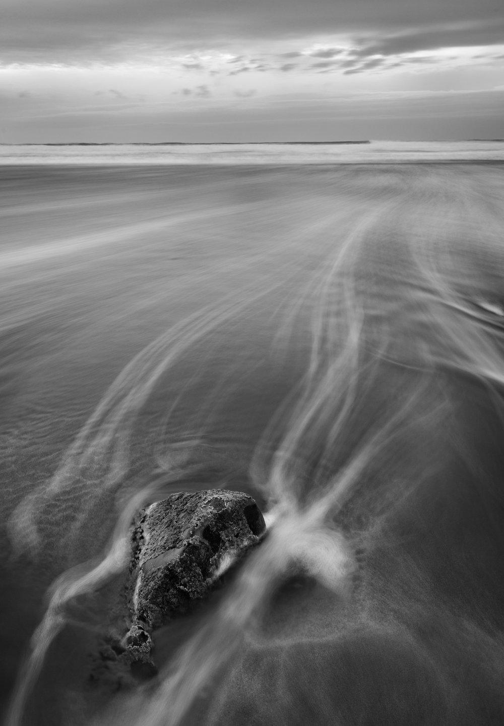Tidal Lines - Sandymouth Beach, Cornwall