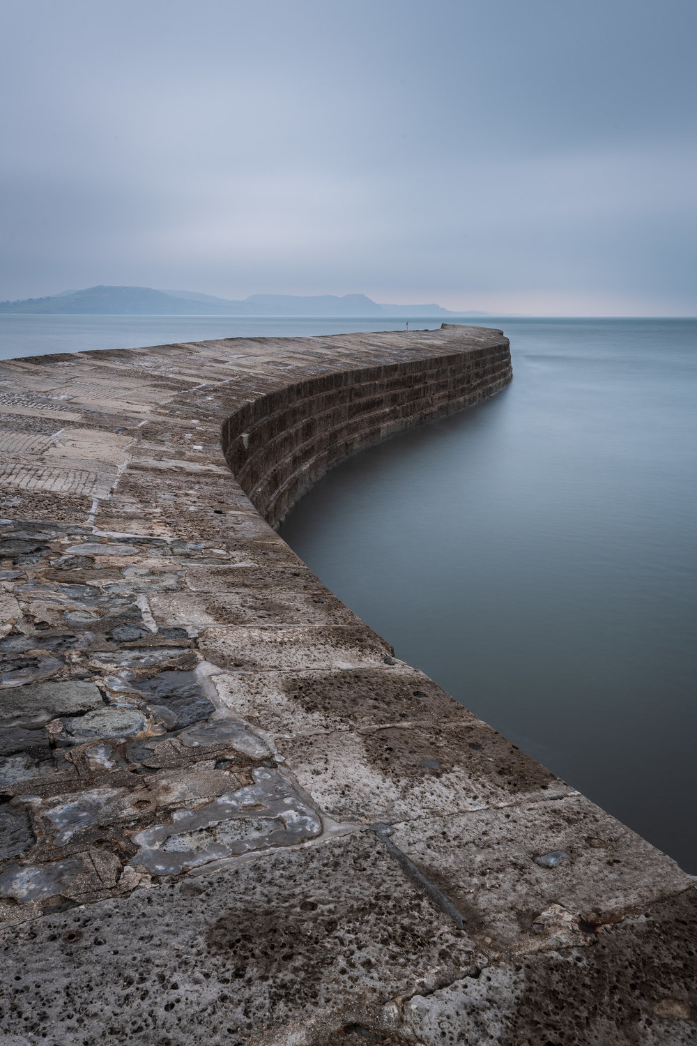 A New Vision of The Cobb, Lyme Regis, Dorset  - Nikon D850, Nikkor 16-35 mm f/4 at 24 mm, f/13, 30 secs at ISO 64.
