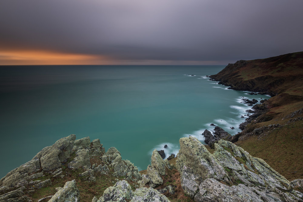 Calm in the Storm at Start Point, Devon  - Nikon D850, Nikkor 16-35 mm f/4 at 18 mm, f/13, 81 seconds at ISO 64, polariser, ND grad, 6 stop ND.