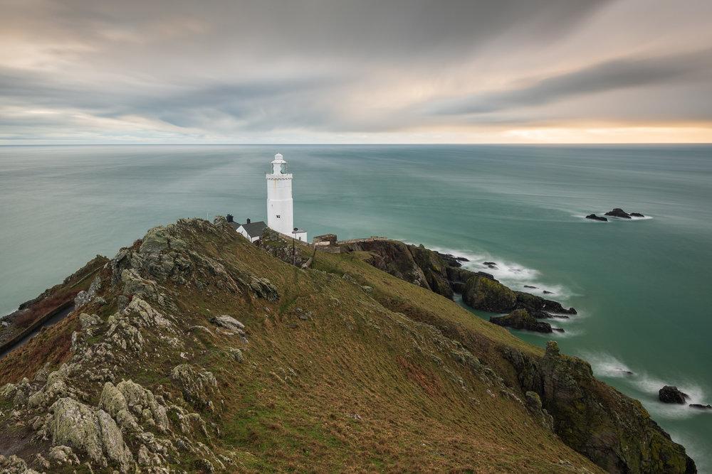 Start Point Swirls, Devon  - Nikon D850, Nikkor 16-35 mm f/4 at 22 mm, f/13, 60 seconds at ISO 64, polariser, ND grad, 6 stop ND.