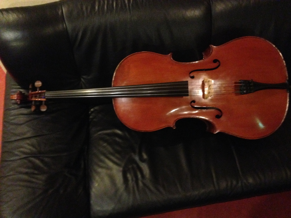 Old German Cello Musical Instruments & Gear Cellos Sound Sample !!