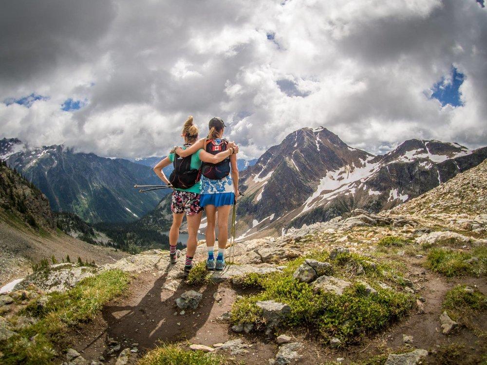 Carrie & I training in Mount Revelstoke National Park 2016 / PC: Nathan Karsgaard