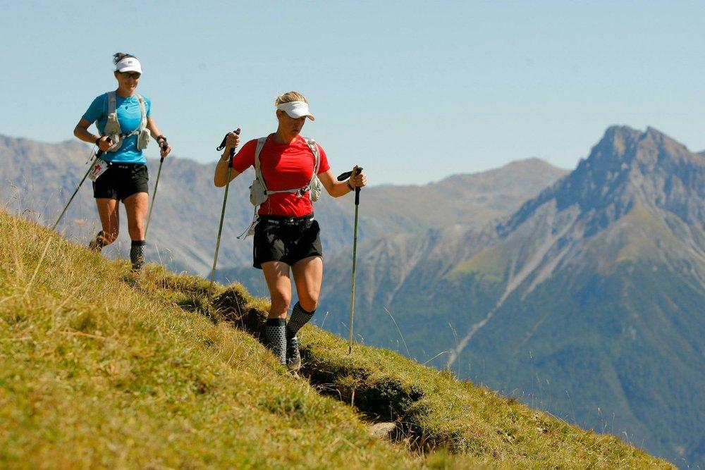 2011 Gore-Tex Transalpine Run... running into Switzerland.
