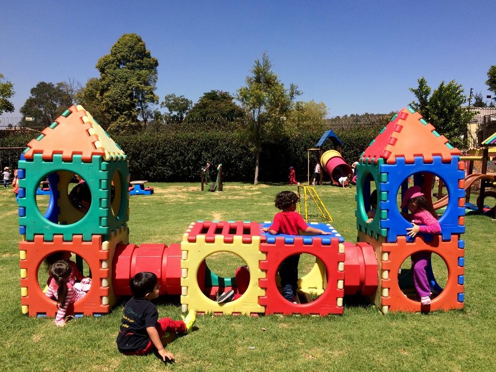 ¡El castillo del parque!