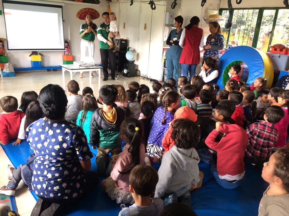D a multicultural jard n infantil por un ma ana for Jardin infantil serrano 78