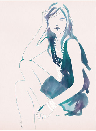 Tiffany & Co illustration