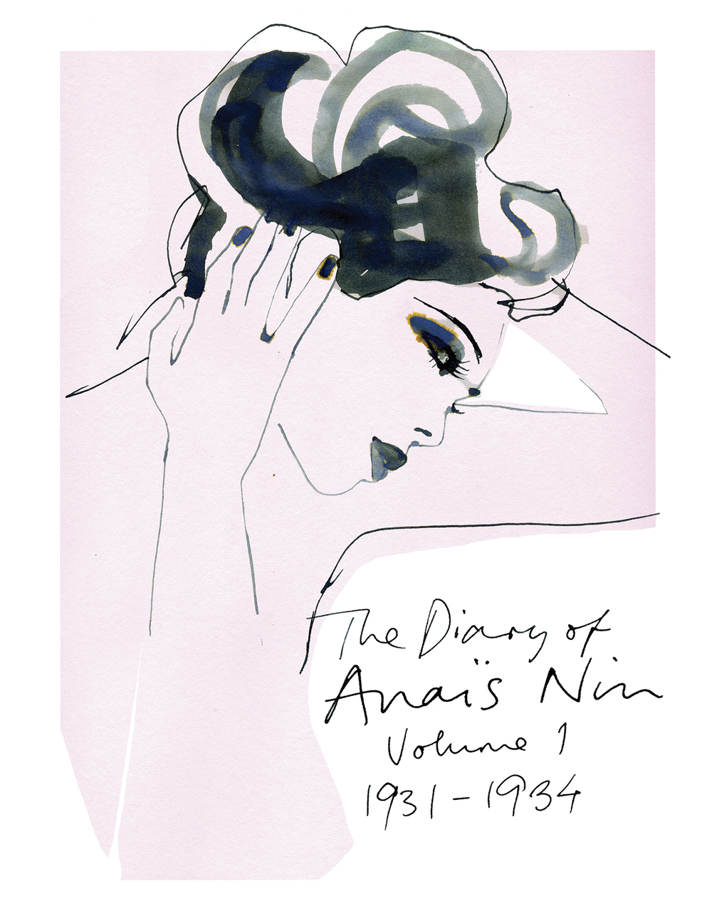 The Diary of Anais Nin Illustration