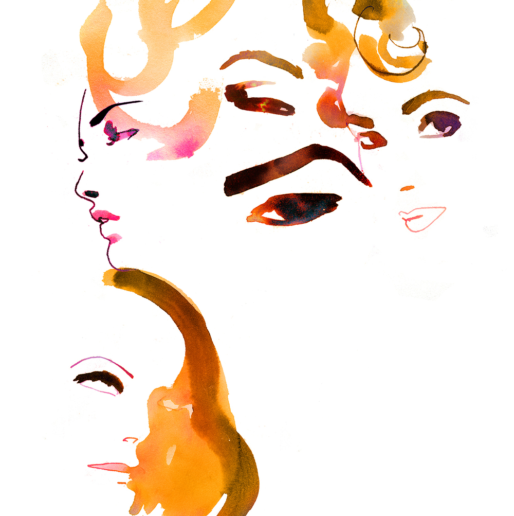 vogue illustration
