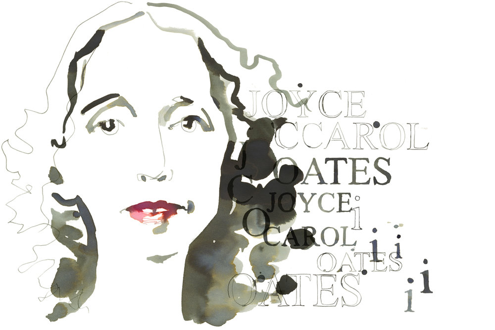 joyce carol oates illustration