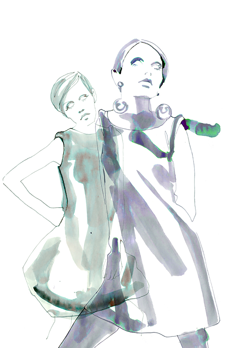 twiggy illustration