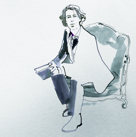 oscar wilde illustration