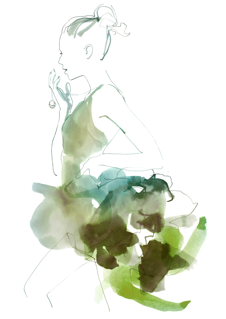cartier fashion illustration