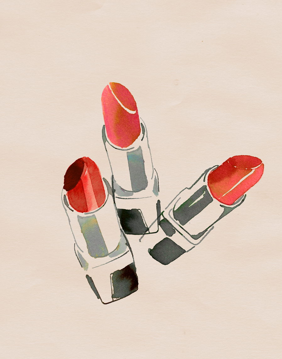 lipstick illustration