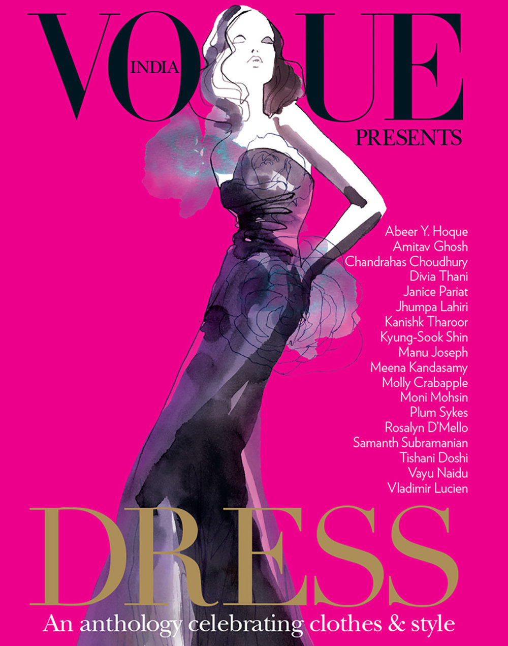 VOGUE INDIA BOOK COVER DRESS