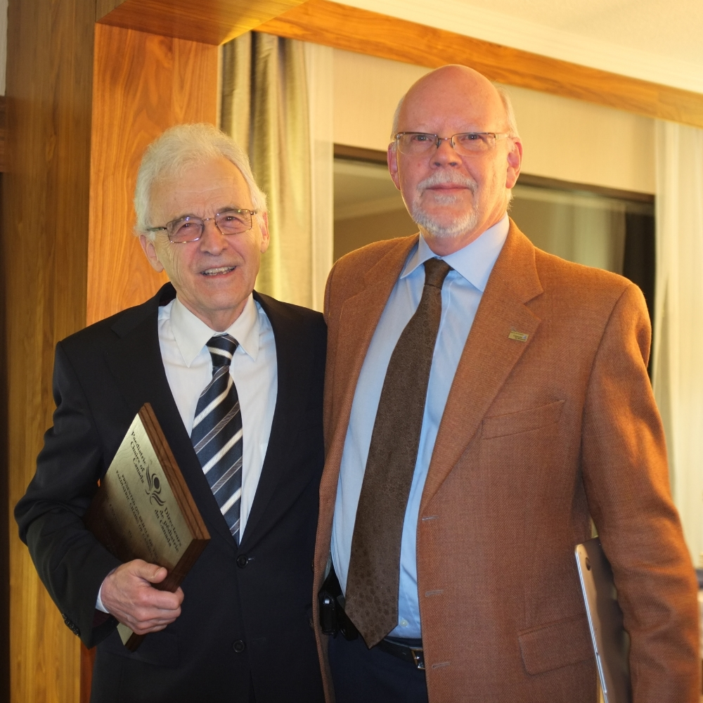 Dr. George-Étienne Rivard and Dr. Jean-Yves Frappier