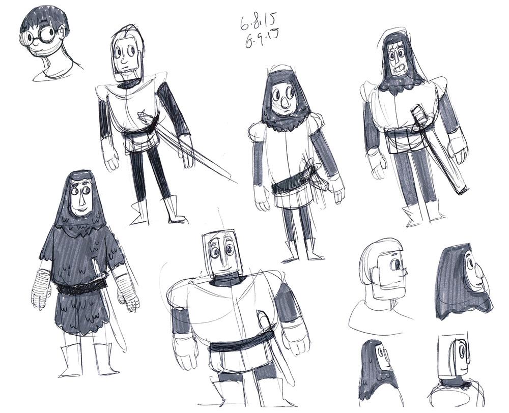 Prince Randall Concept Art