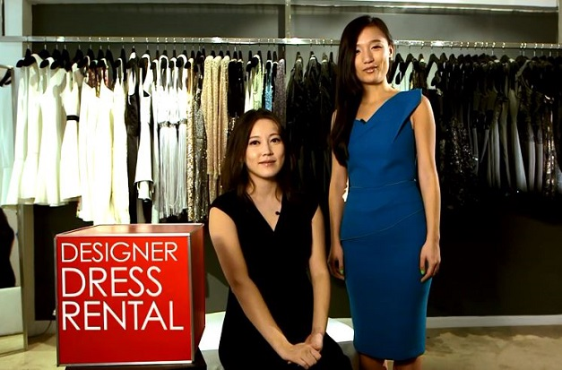 La location de vêtement : Abby & Shan Shan, co-founders of Hong Kong company Yeechoo.