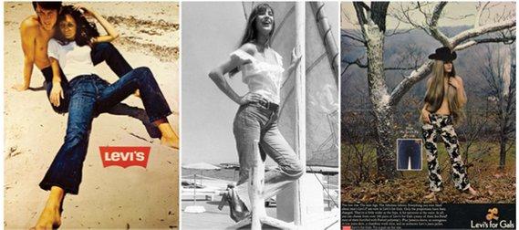 """Initialement créés comme tenues de travail, l'entreprise Levis Strauss & Co lance les """"jeans Lady Levi's"""" en 1934, une pépite d'or qui révolutionnera à jamais le monde de la mode féminine"""