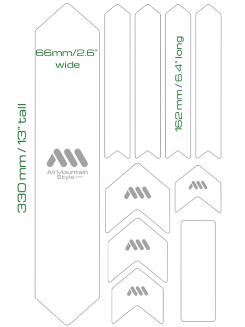 AMS XL Frame guard layout and Sizes