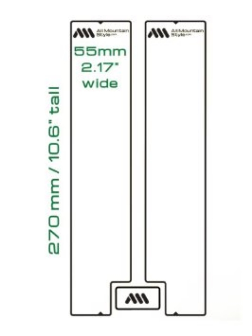 AMS Fork Guard layout and sizes