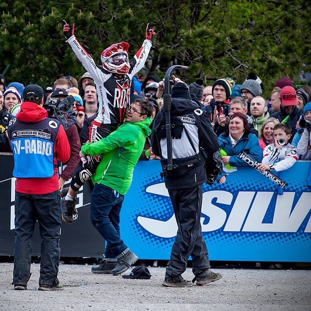 Fort William 2015 UCI World Cup, where Katy came 5th place