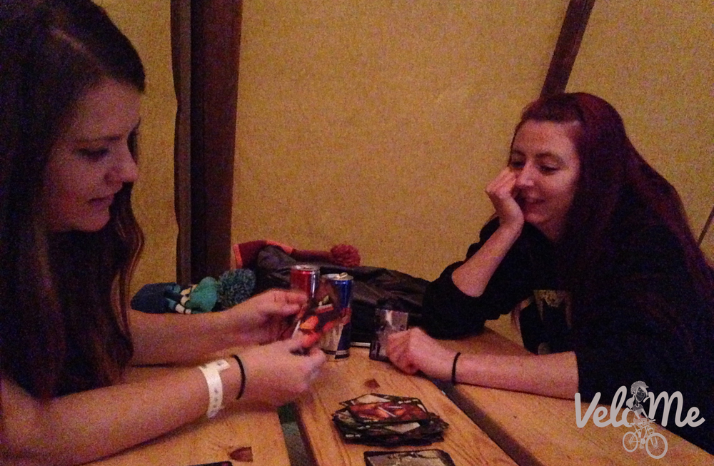 Evening card games