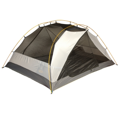 The internal structure of the tent