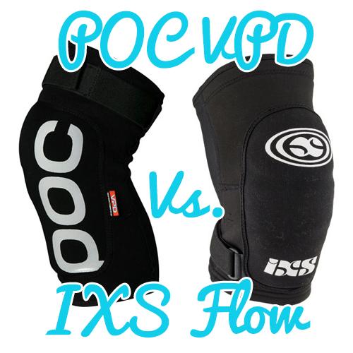 POC VPD Vs. IXS Flow Knee pads