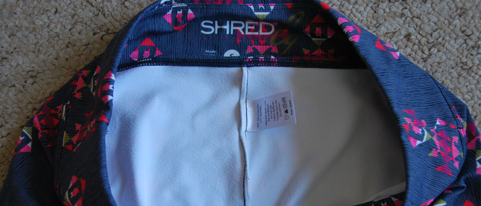 The inside of the leggings are soft and brushed for a lovely feel against the skin