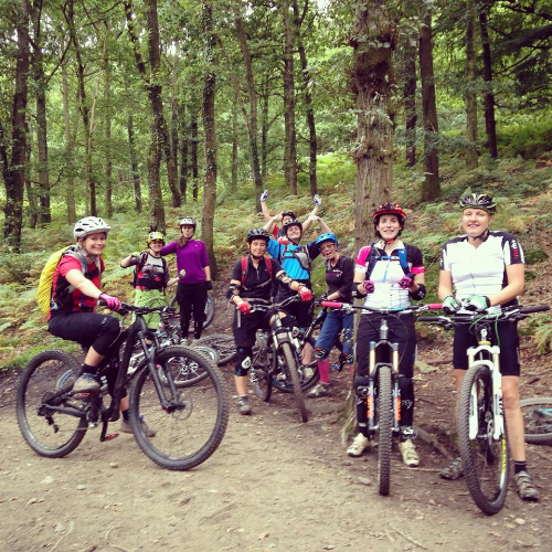 Velo Vie Ladies out at FoD