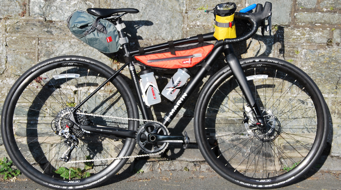 The Marin Gestalt 3 - Loaded and ready to roll