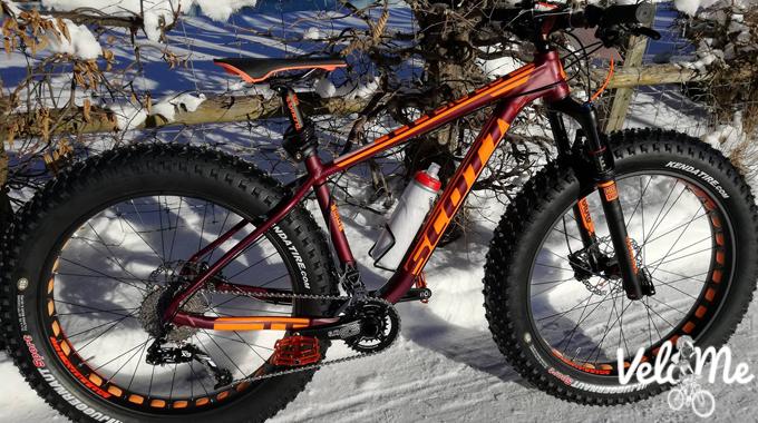 My Snow Bike Festival ride, the Scott Big Ed