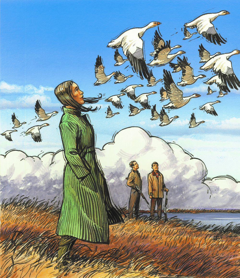 The Snow Geese - MARCH 21 - APRIL 15, 2018With WWI raging abroad, newly widowed Elizabeth Gaesling gathers her family for their annual shooting party, to mark the opening of hunting season in rural upstate New York.