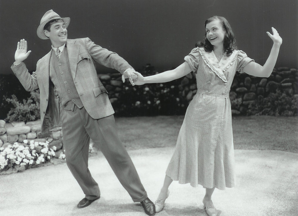 Christopher Howe and Robin Lewis-Bedz in Dancing at Lughnasa 2000-2001