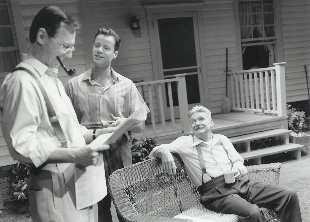 Geoffrey Beauchamp, Scott Crownover and Dennis Robertson in All My Sons 1999-2000