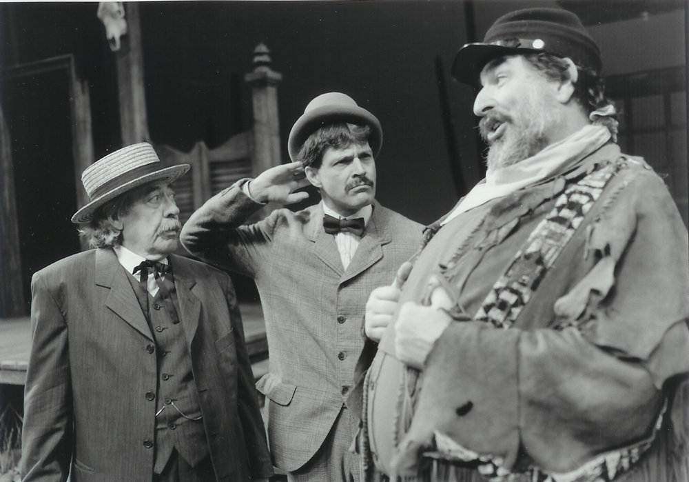 Leo McNamara, Ray Schultz and David Regal in The Merry Wives of Windsor 1998-1999
