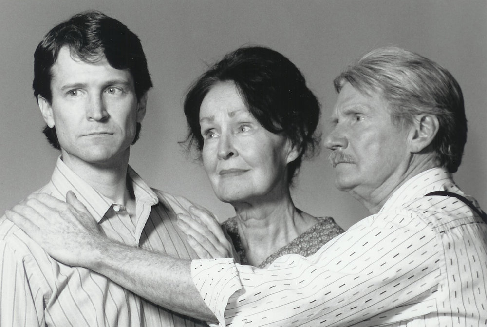 Raymond L. Chapman, Mary Benson and Dennis Robertson in All My Sons 1999-2000
