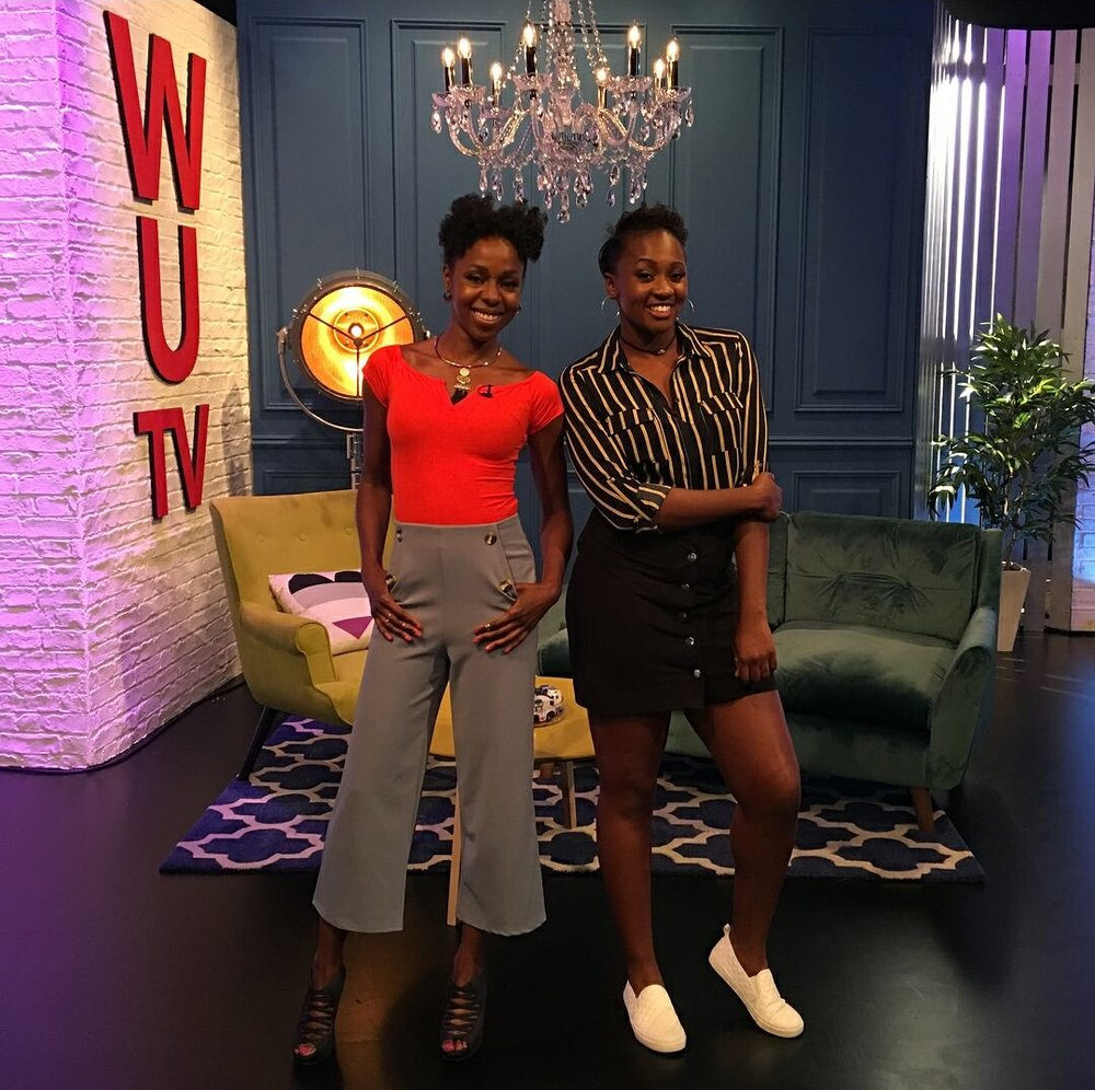 What's Up TV - This Arts and Culture Magazine show is produced for Sky One and hosted by these lovely ladies Jacqueline Shepherd and Remel London.Watch this show on Saturday mornings on Sky One and see how our makeup stands up to those studio lights.MUA: @makeupbyemmamThank us Later xoxo