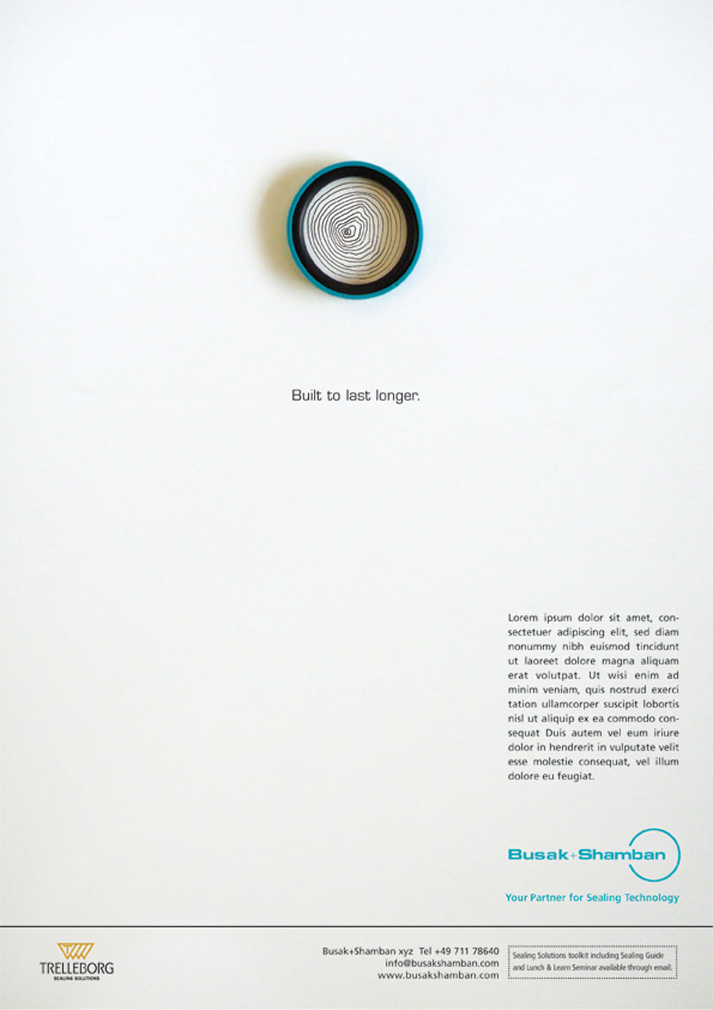 Press advertising. Concept. Art Direction. Design. Illustration.    This innovative and clever campaign helped our client sell their seals, highlighting their benefits with charming illustrations and pithy headlines.   Commissioned at Connect.  connect-group.com
