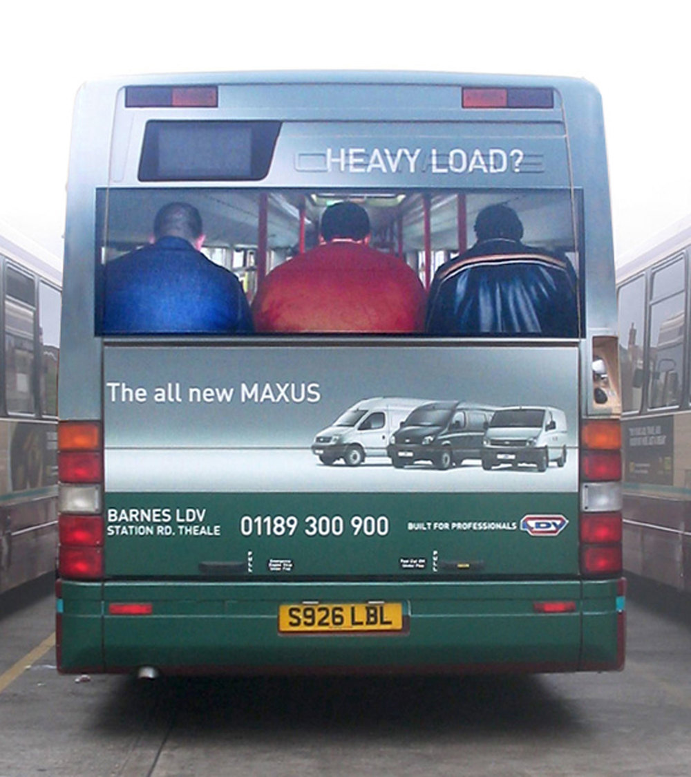 Outdoor. Concept. Design. Art Direction.    We tailored the creative to make the most of the medium and sell the load carrying benefits of the LDV Maxus.   Commissioned at Connect.  connect-group.com