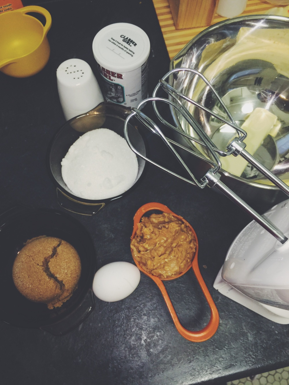 crunchy peanut butter cookie ingredients