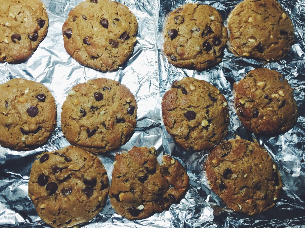 cooling peanut butter chocolate cookies