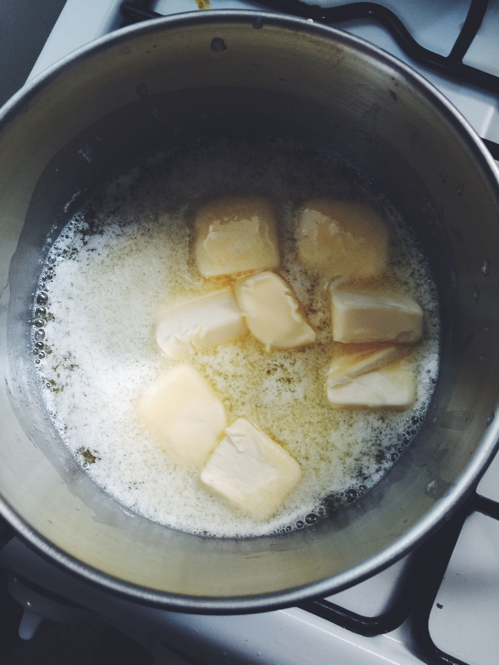 making browned butter