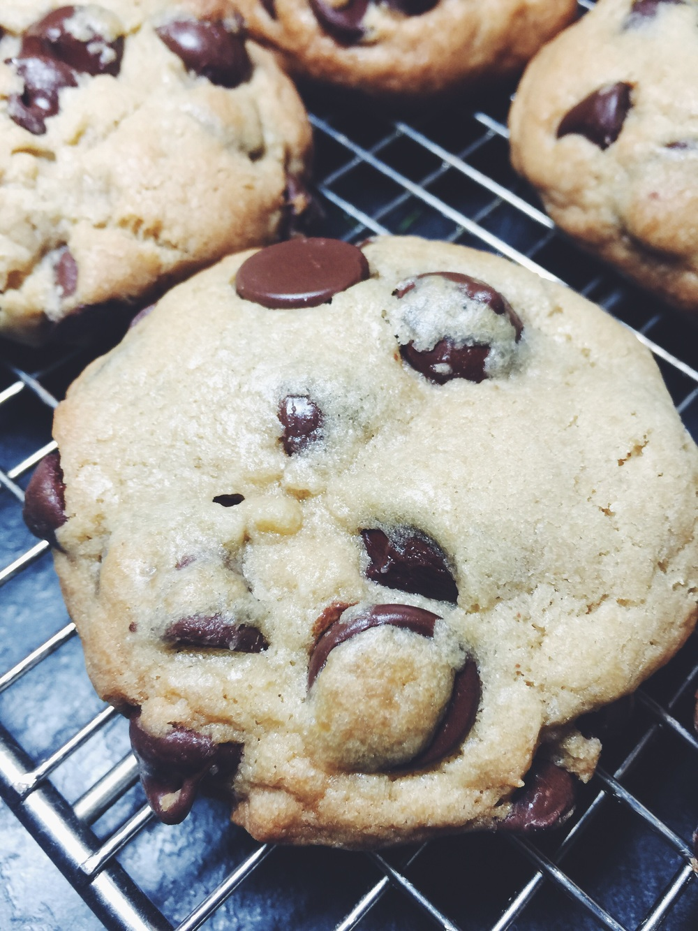 the chocolateyest chocolate chip cookies